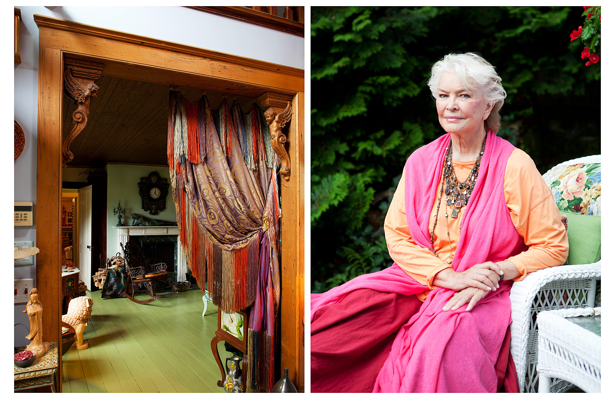 Interior | Ellen Burstyn | Wall Street Journal | Brian Park Photo New York | 1
