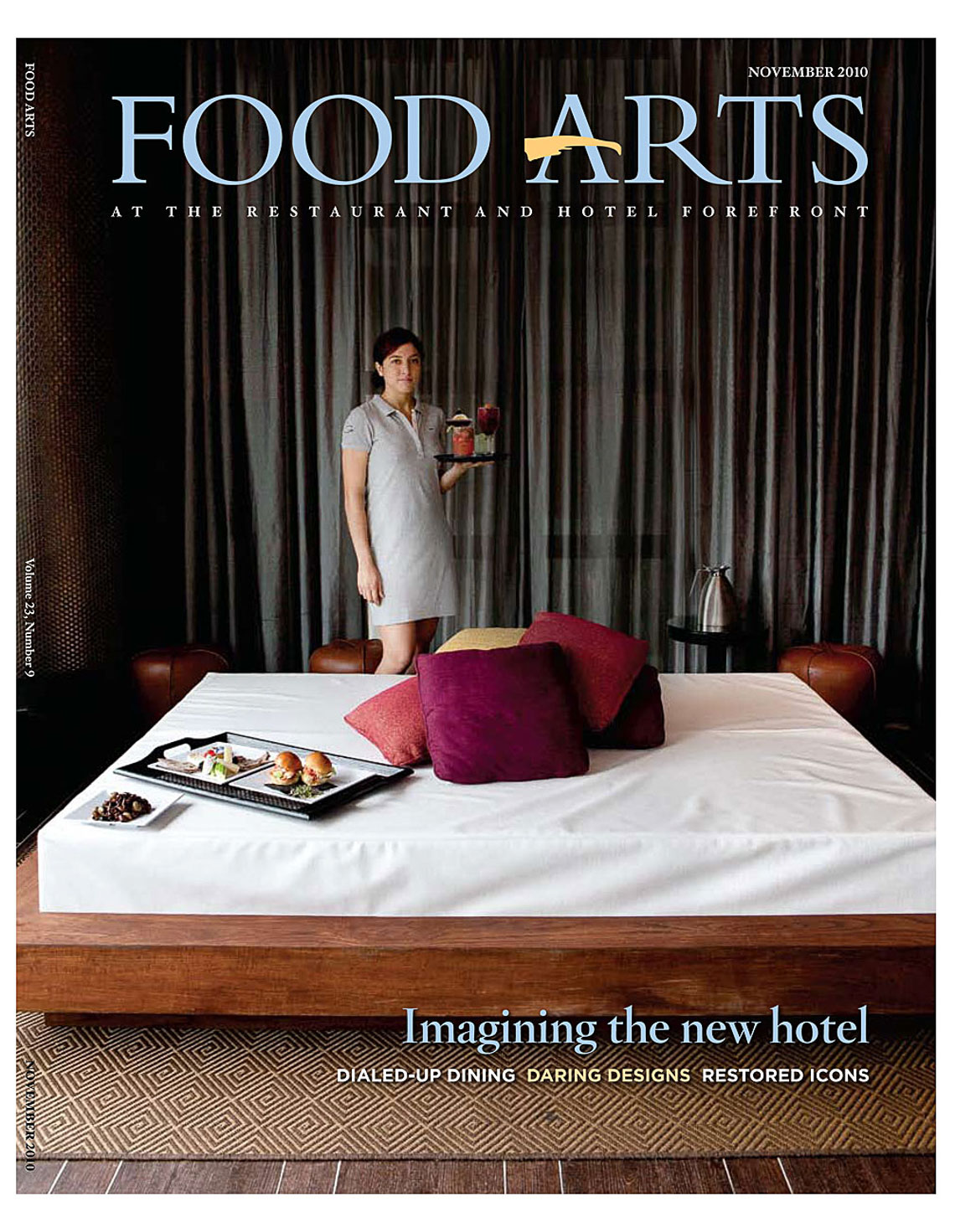 Published | Food Arts Cover | Brian Park Photo New York