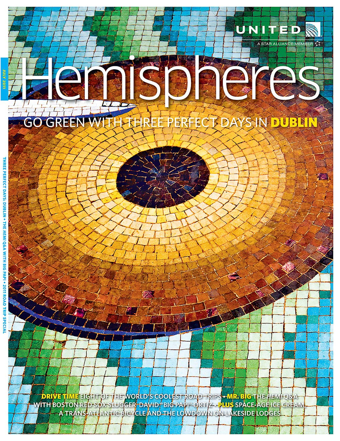 Published | Hemispheres Dublin Cover | Brian Park Photo New York