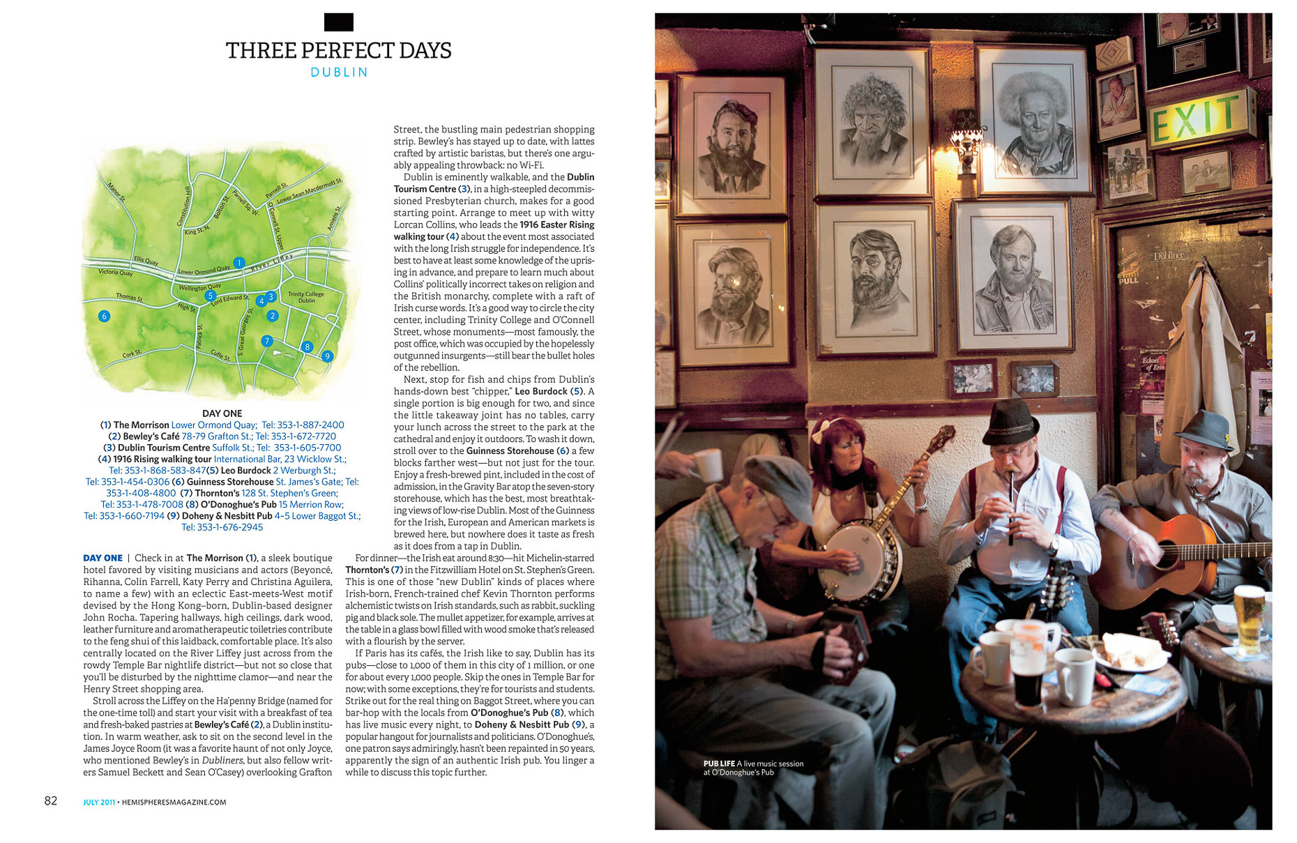 Published | Hemispheres Dublin 3 | Brian Park Photo New York
