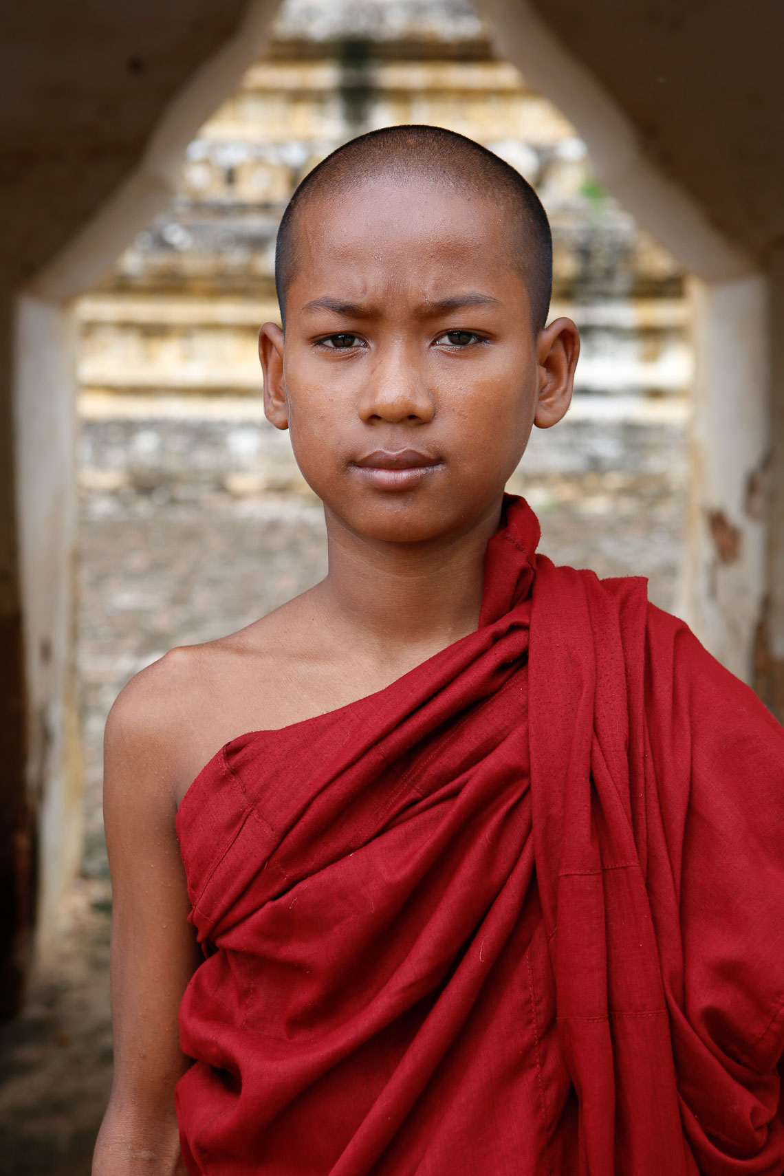 Portrait | Monk | Burma | Brian Park Photo New York