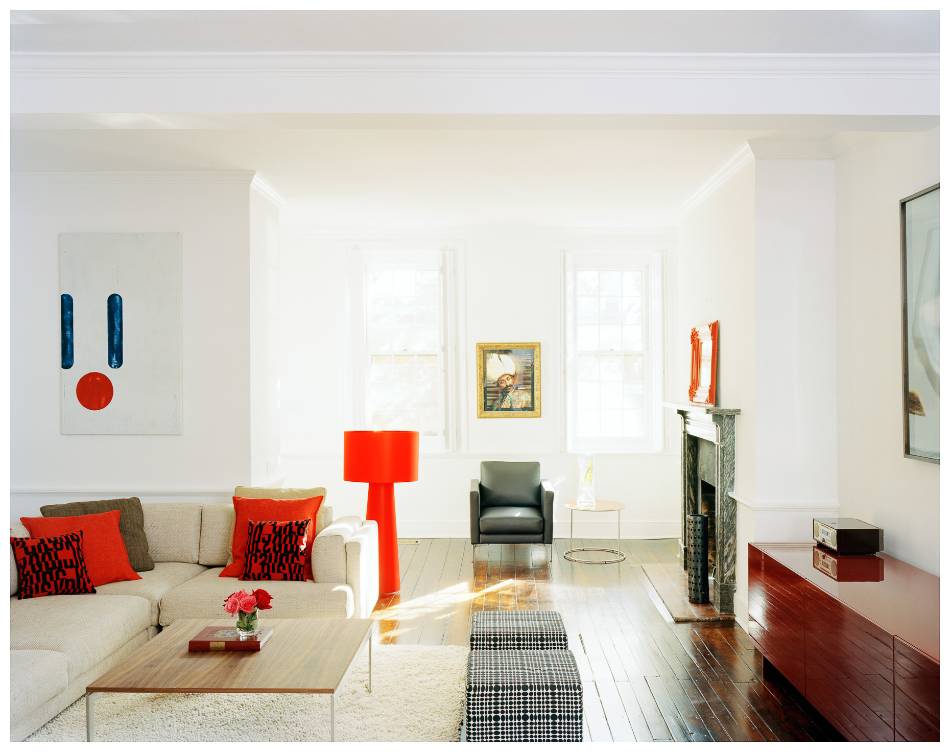 Philadelphia Interior | Modern Living Room | Brian Park Photo New York | 2