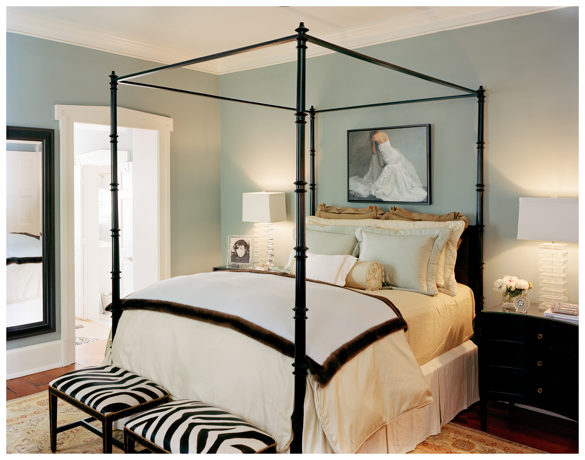 Charleston Interior | Bedroom | Brian Park Photo New York | 25