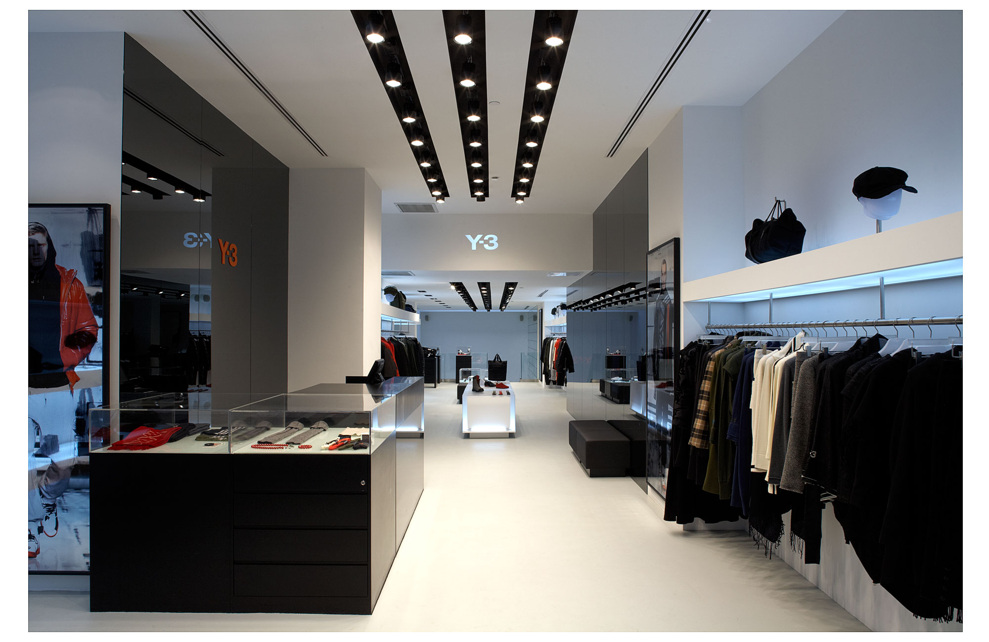 Interior | Adidas Y3 | Brian Park Photo New York | 3