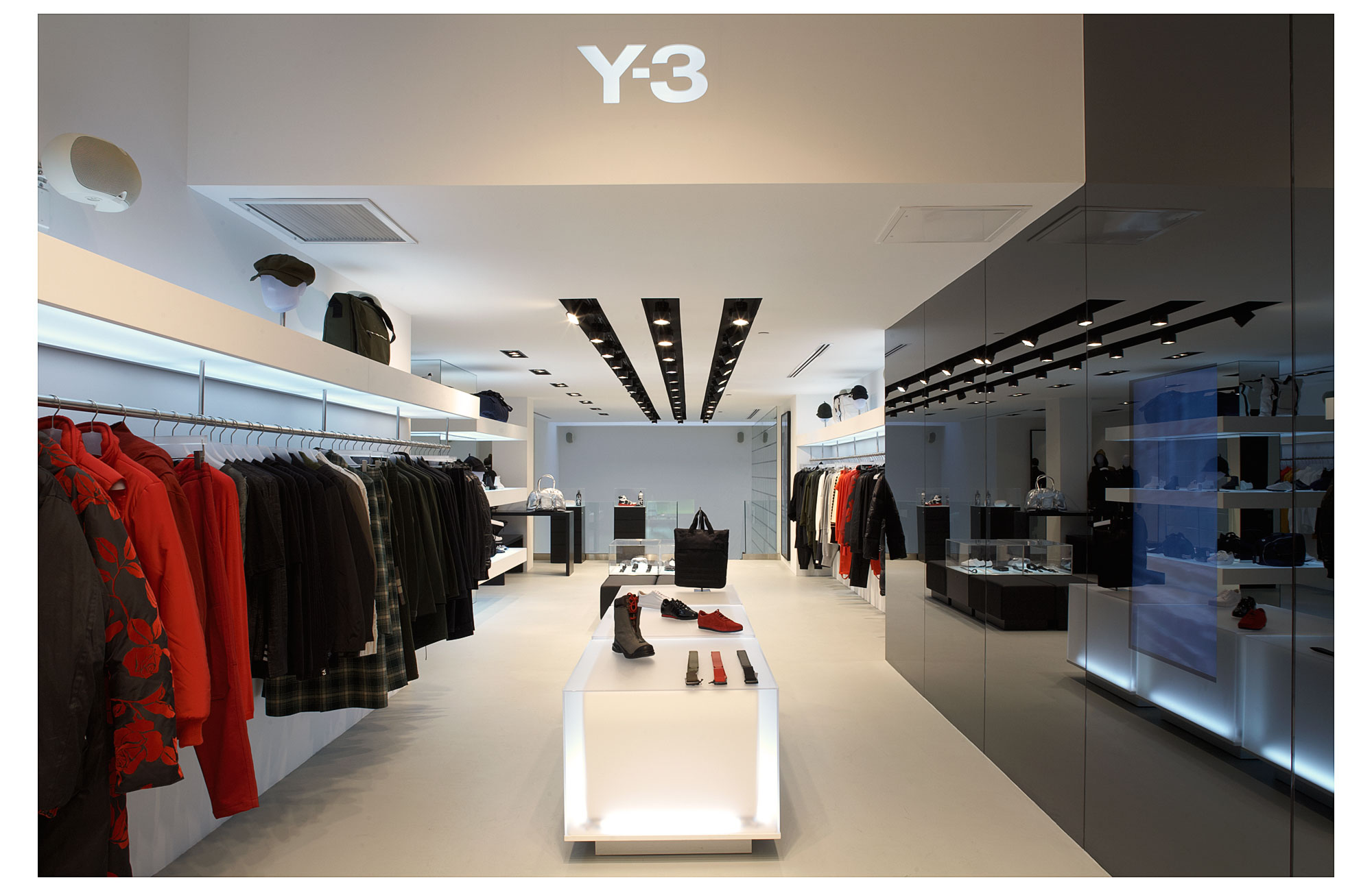 Interior | Adidas Y3 | Brian Park Photo New York | 2